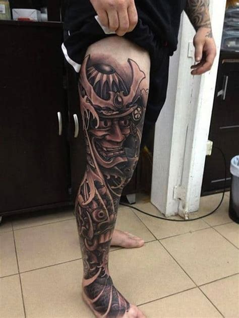 150 Awesome Samurai Tattoos & Meanings (Ultimate Guide
