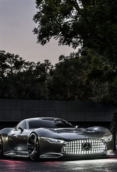 Mercedes Benz AMG Vision Wallpaper for iPhone X, 8, 7, 6