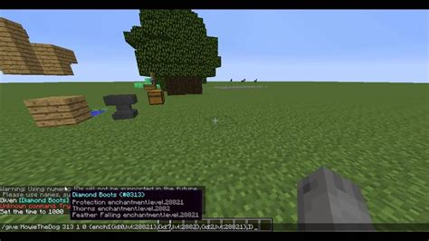Minecraft tutorial Ep 5: How to get god items with