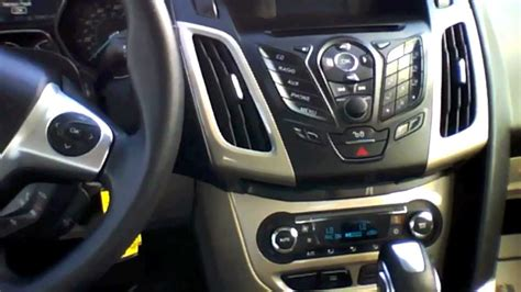 2012 Ford Focus SEL Sedan Start Up, Quick Tour, & Rev With