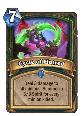 Cycle of Hatred - Hearthstone Wiki
