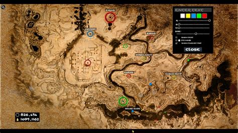 Map marks and Coordinates - Conan Exiles Mods | GameWatcher