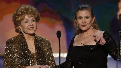 Debbie Reynolds, actress and mother of Carrie Fisher