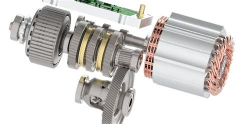 Scalable E-drive integrates multi-speed transmission