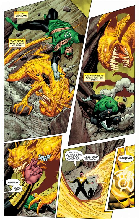 Sinestro's Complete Mastery Of Parallax – Comicnewbies